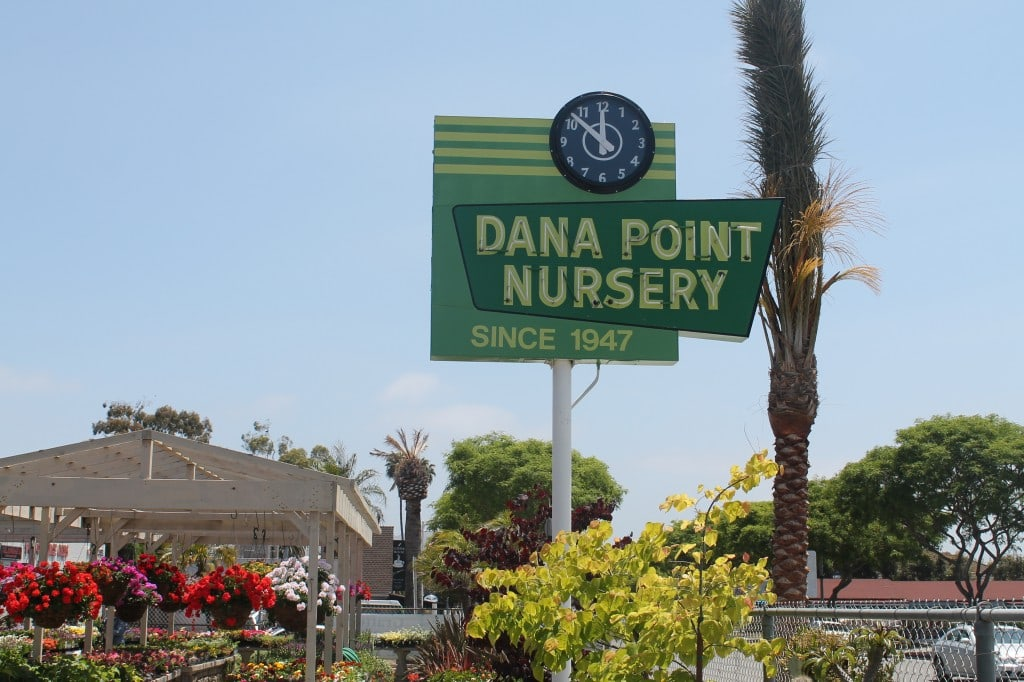 Dana Point Nursery, Southern California Beach Cities