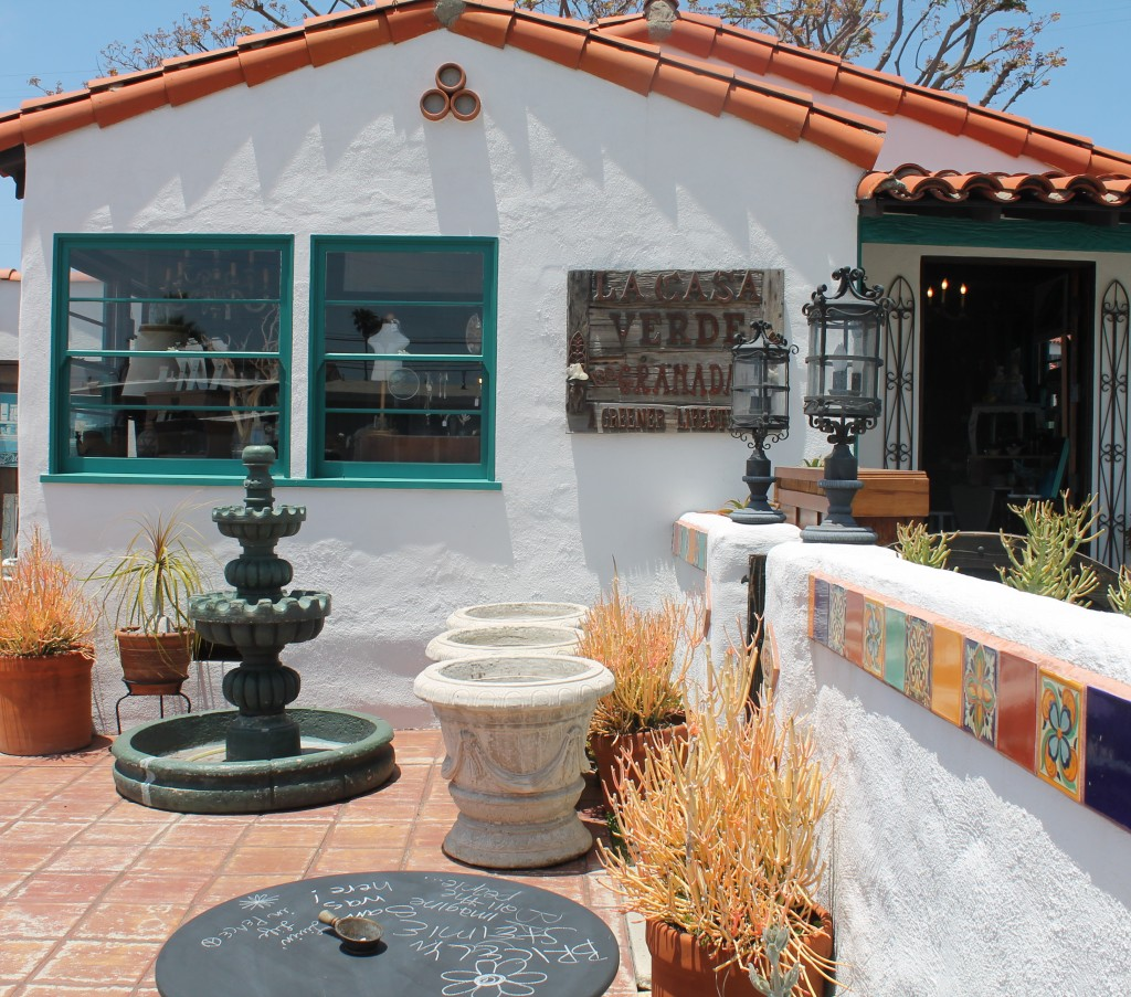 la casa de verde de granada, San Clemente, CA, beach cities, Annie Sloan paint