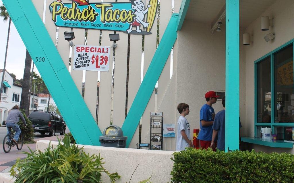 Pedro's Taco Shop, San Clemente, CA