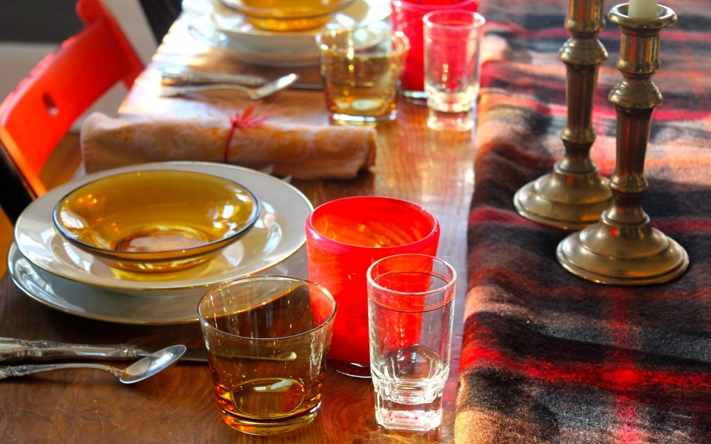 Most Lovely Things - Thanksgiving Table