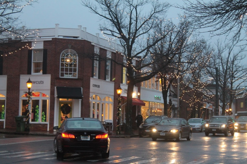 Crew Cuts in New Canaan at Christmas