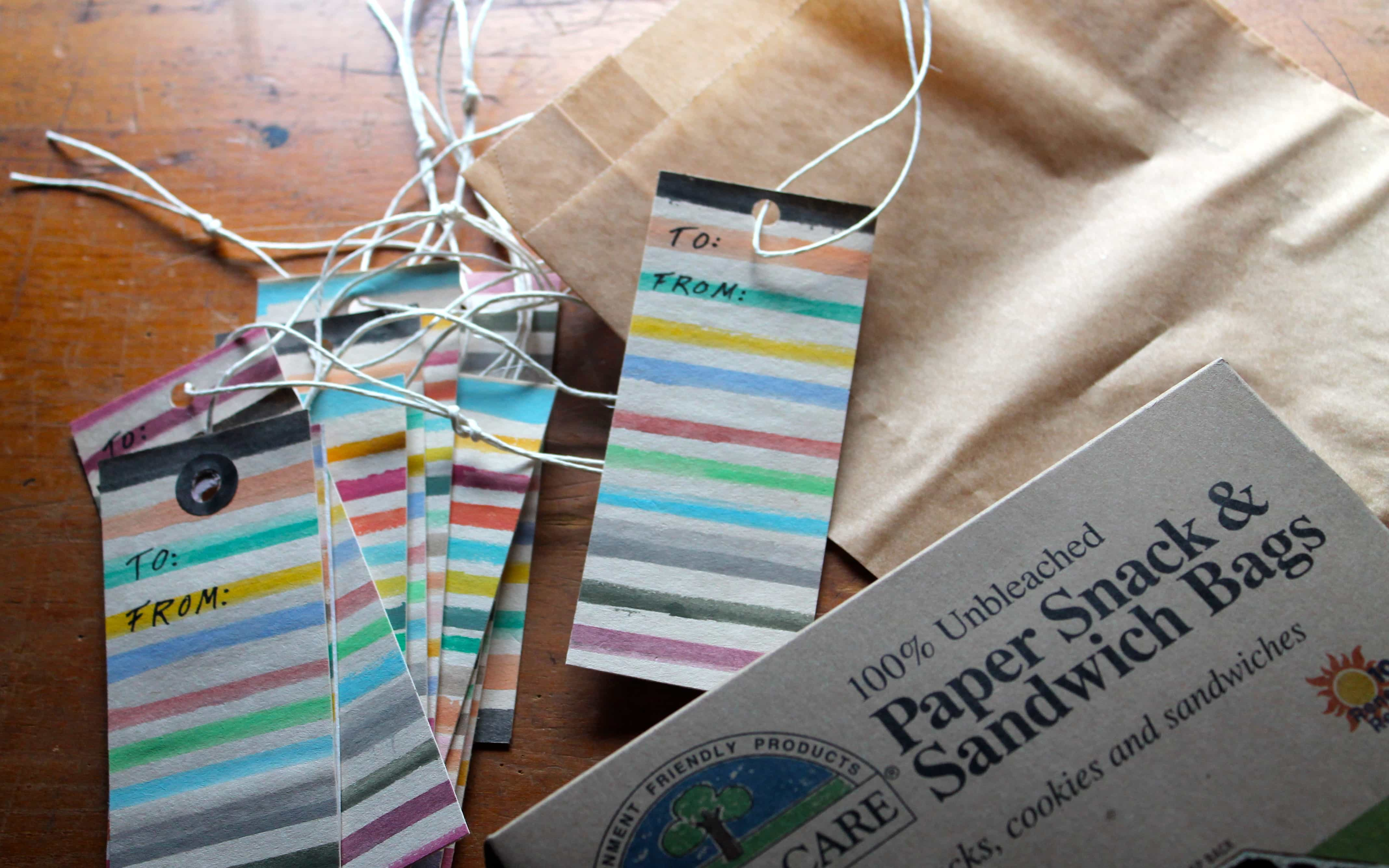 DIY * Gift tags inspired by the book: Sara Midda's South of France ~ A Sketchbook