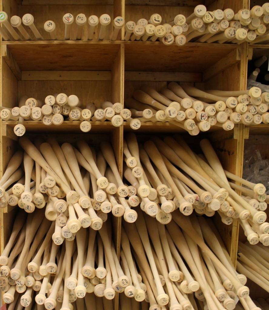 Tucci Lumber Custom Bats