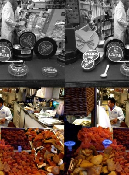 Russ & Daughters in black & white