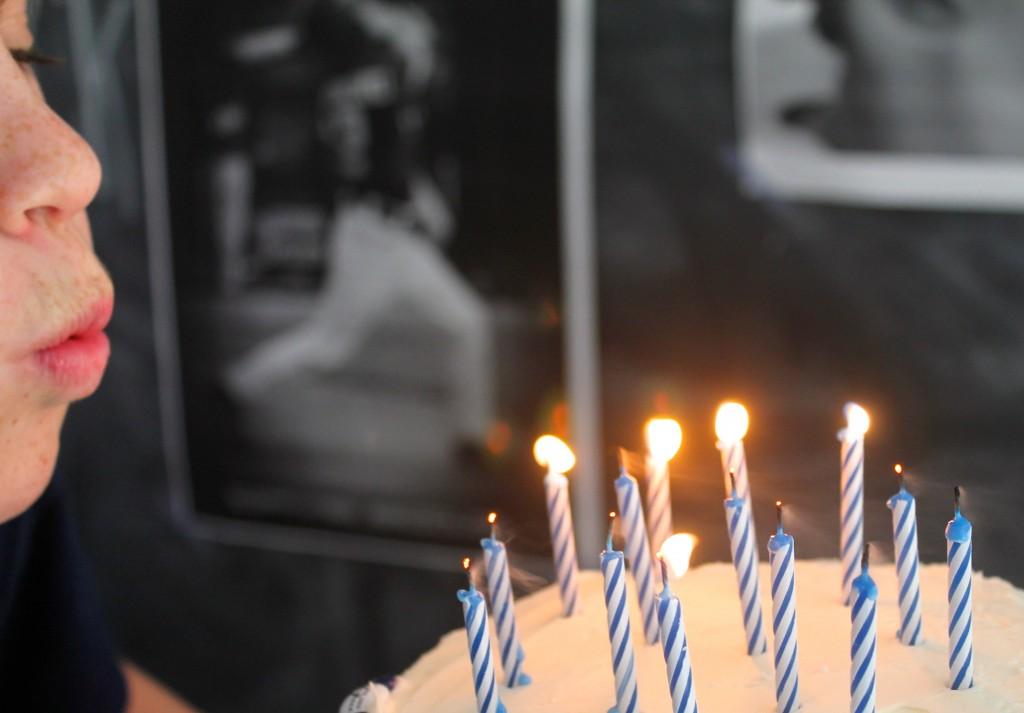 baseball, stripes, birthday celebration