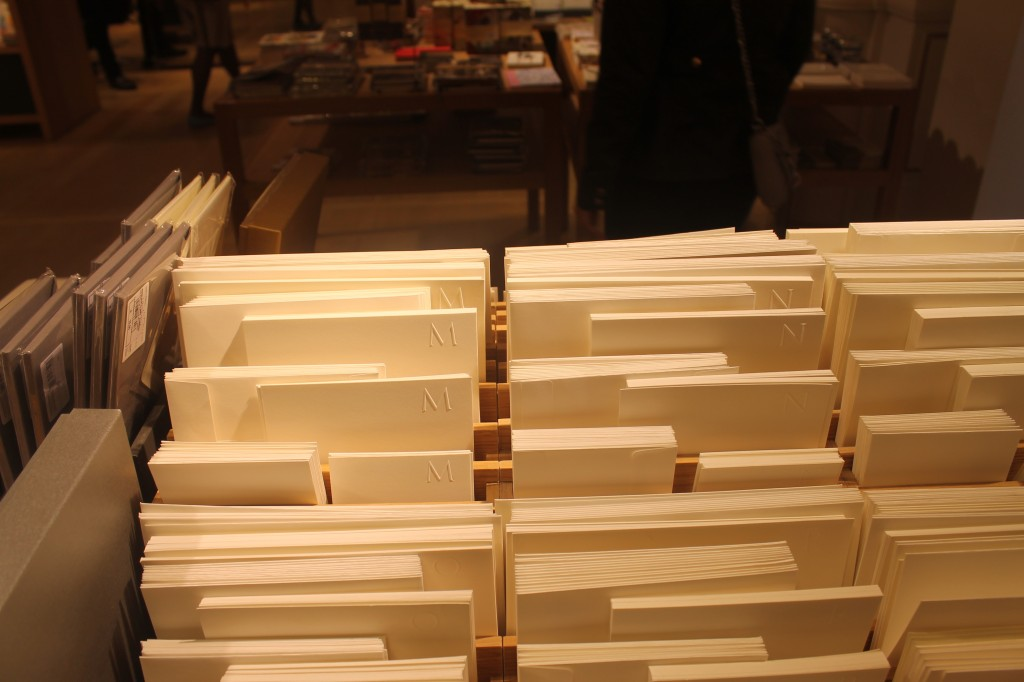 Letterpress at Le Bon Marche