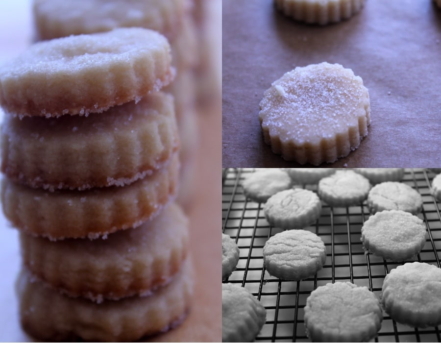 shortbread cookies:3grid