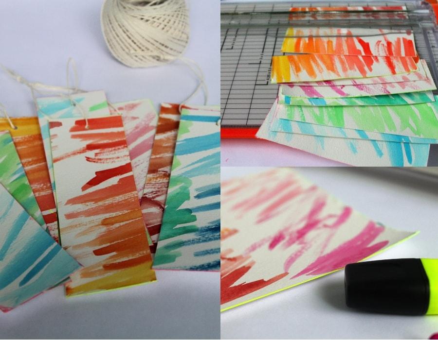 DIY Watercolor gift tags DIY watercolor gift tags