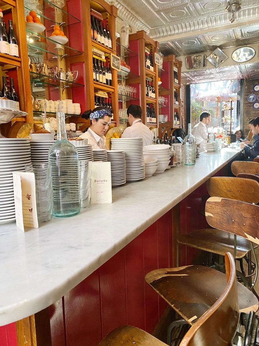 bar, counter, stools