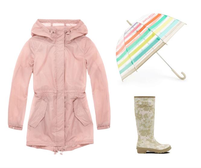 Blush Rain Gear
