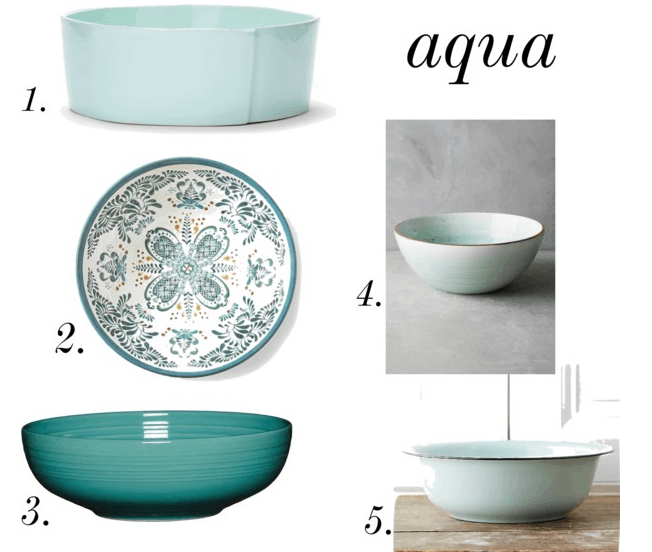 Aqua Easter Basket Ideas