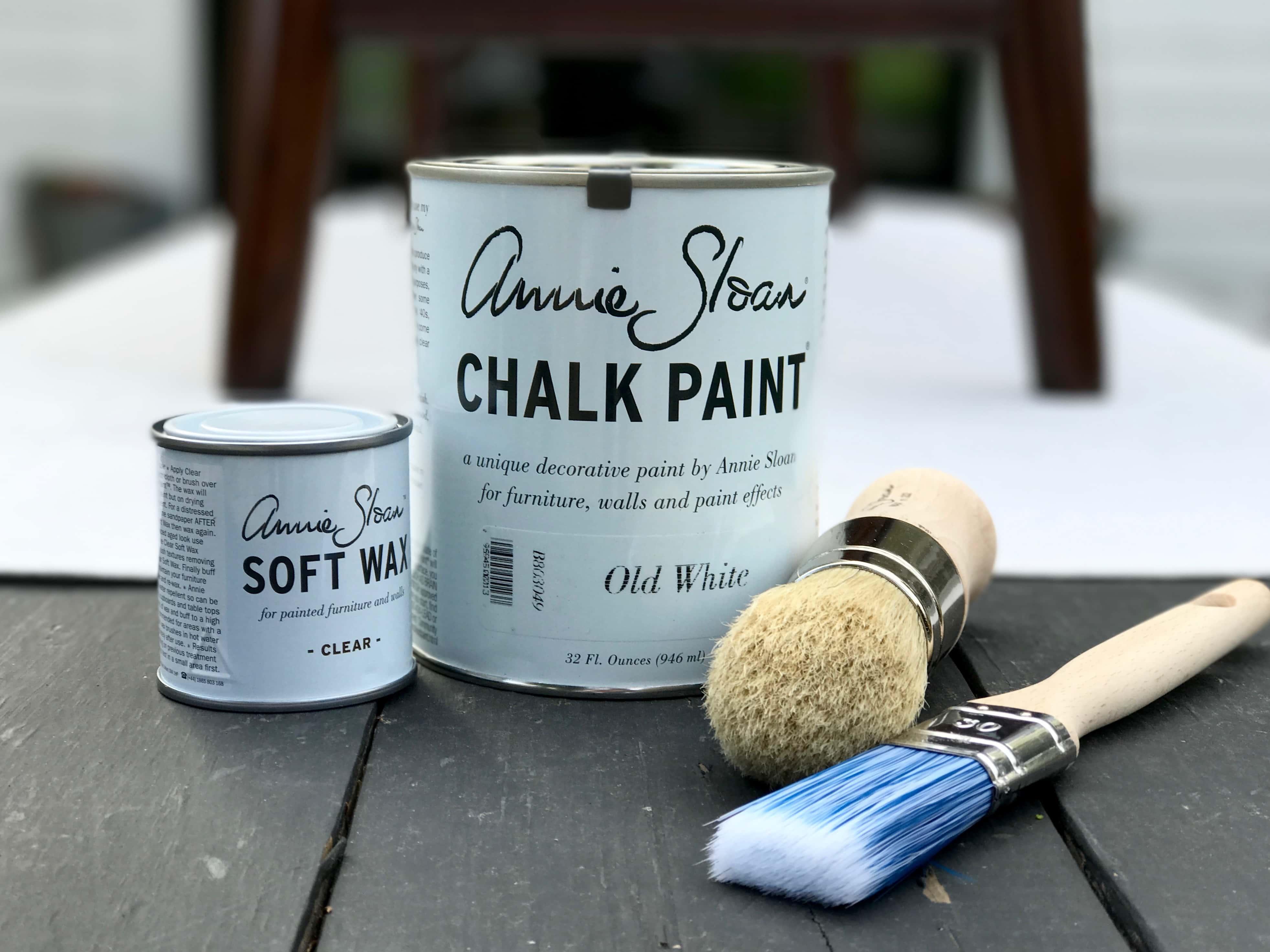 Summer Living Room + Annie Sloan Chalk Paint