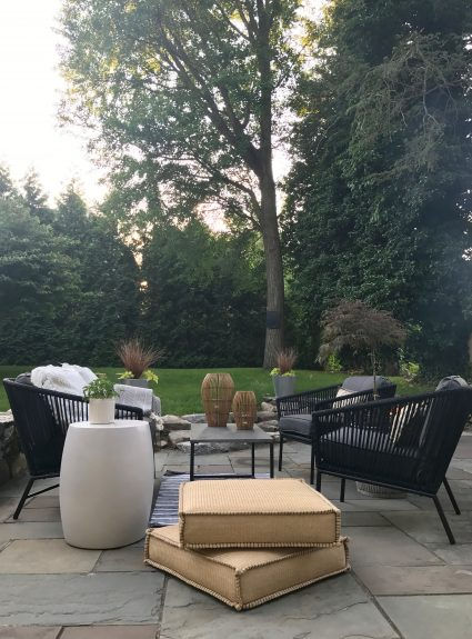 Creating an Outdoor Space for Summer Living . . .