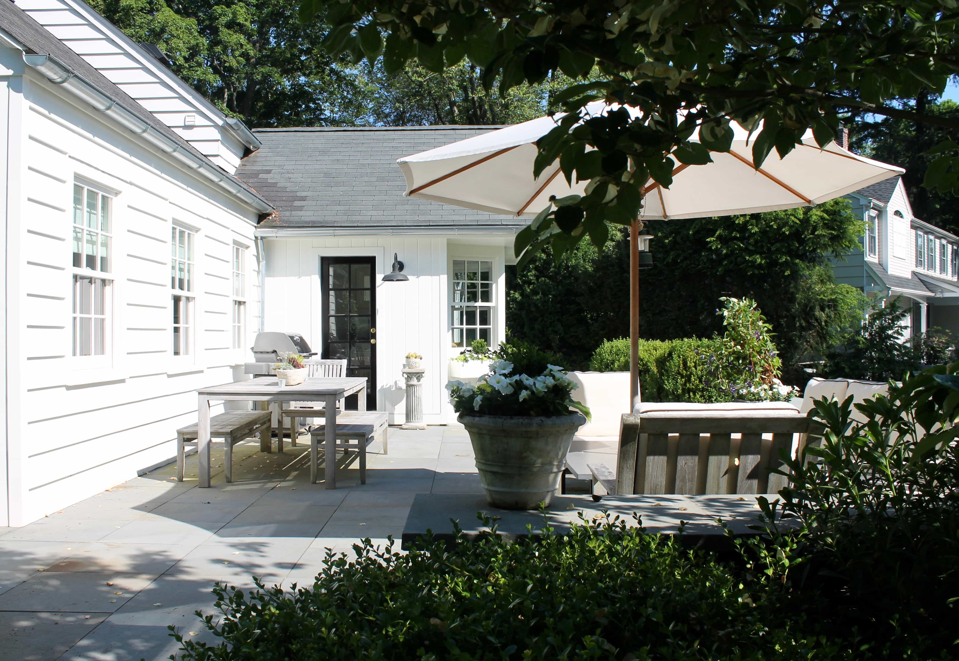 Black and White Modern Farmhouse Style in Westport, CT
