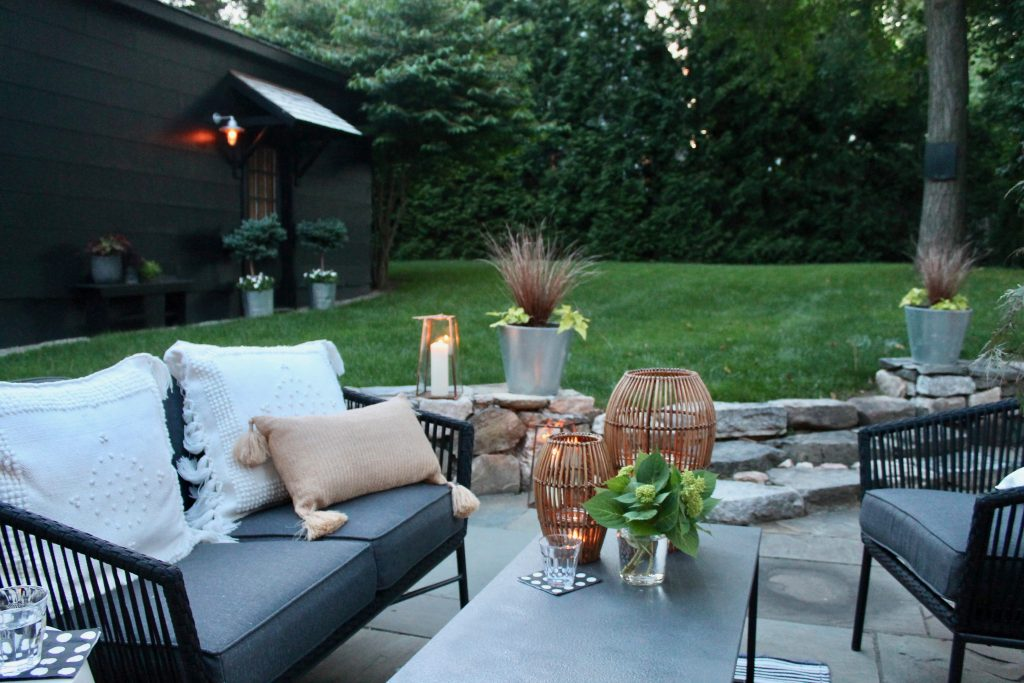 Patio furniture from Target