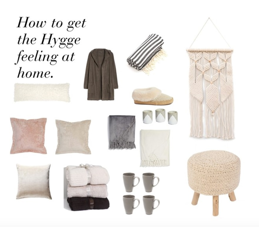 How to get the Hygge feeling at home.