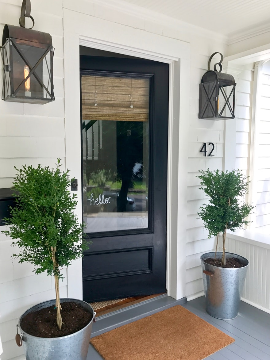 Modern Farmhouse Entryway New England