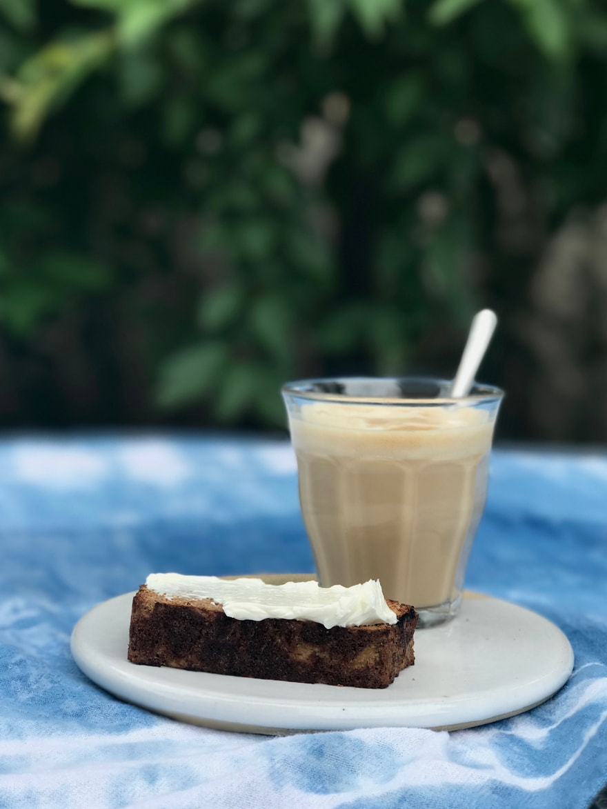 Paleo Zucchini Bread and Cappuccino