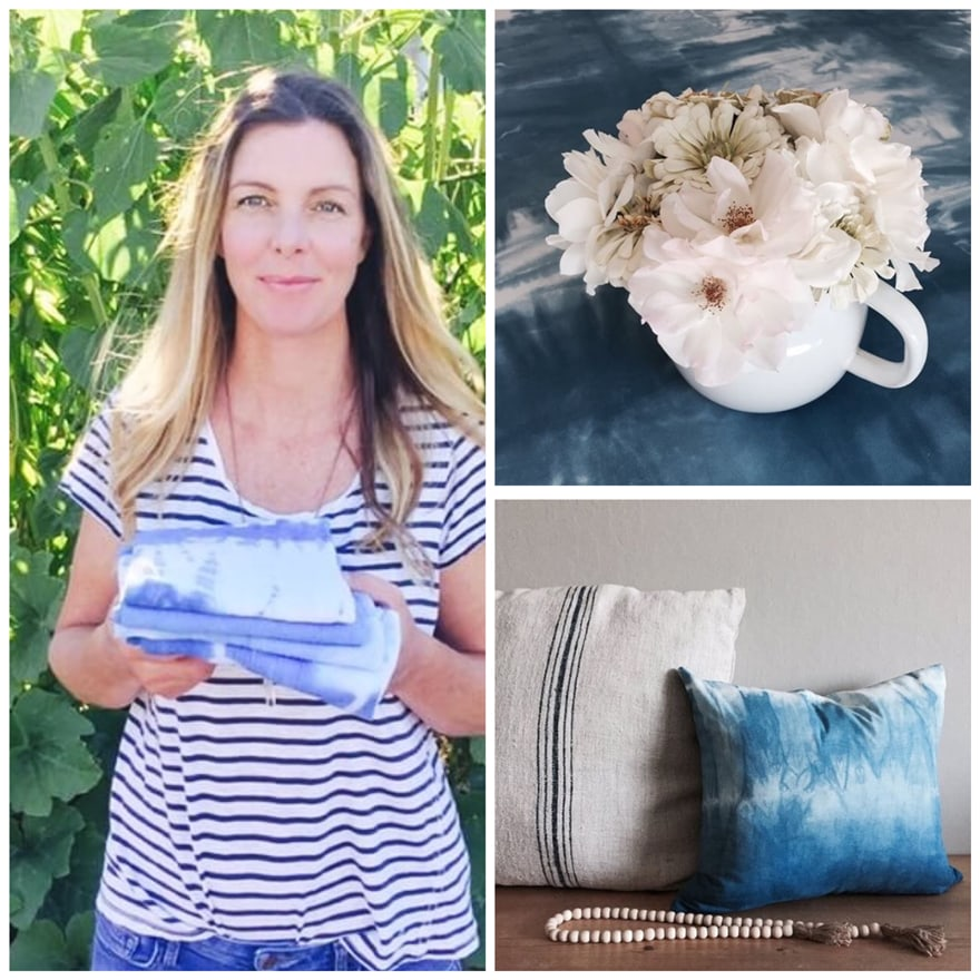 Tara from Sonoma Cottage and her DIY Indigo Projects