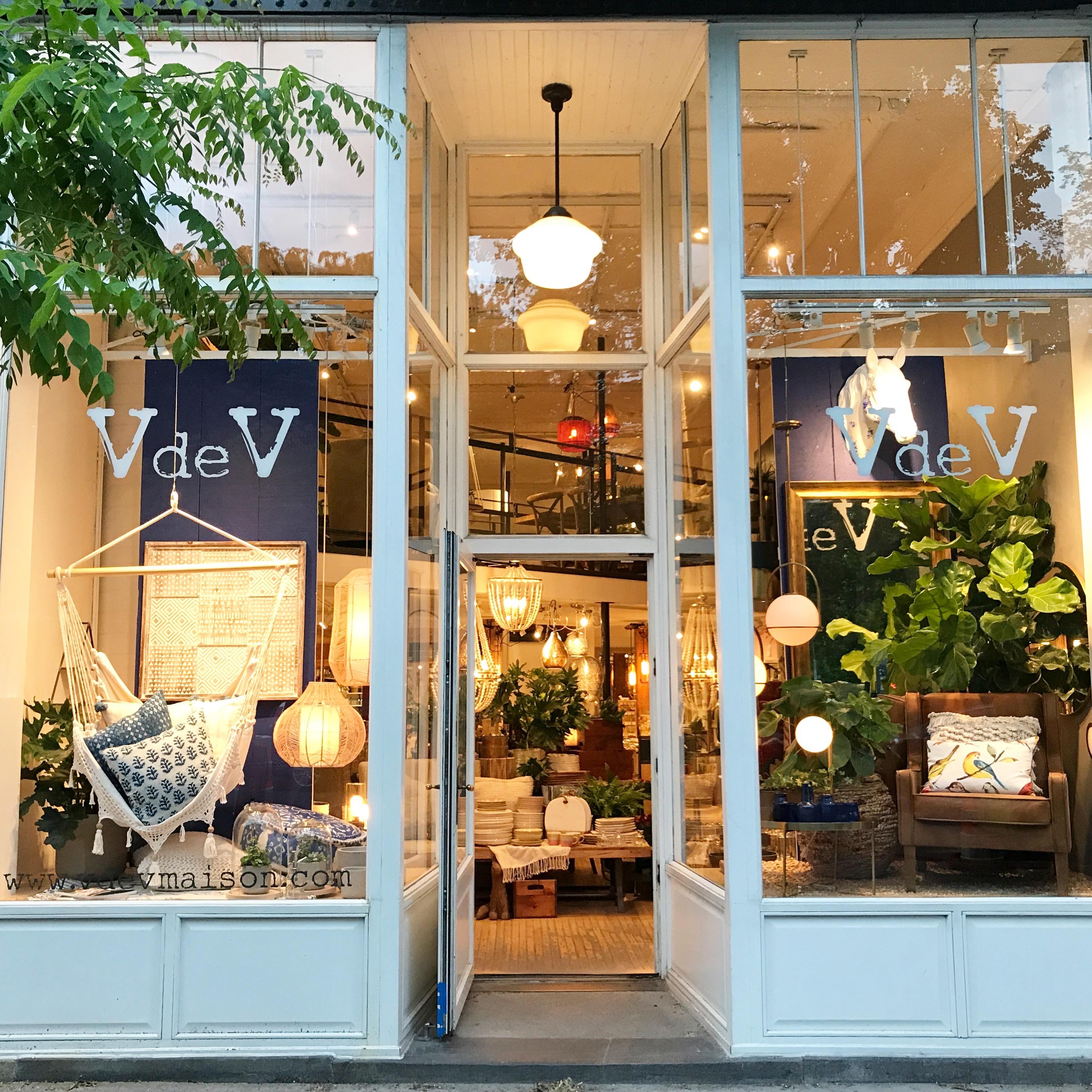 Vde V Design Shop in Mile End Neighborhood Montreal