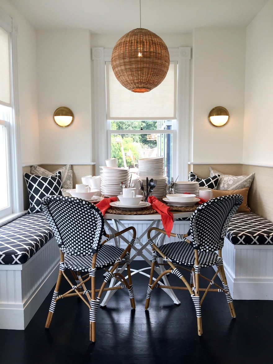 Serena And Lily Westport Built In Banquette Charlotte
