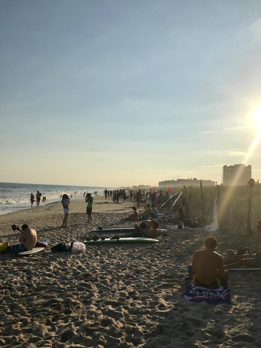 The-Rockaways-Queens-New-York-Beach-Sand-Surf