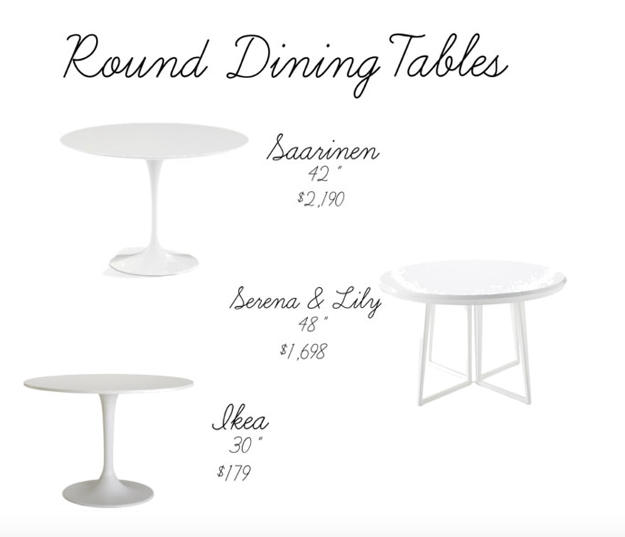 White-Round-Dining-Tables-Saarinen-Tulip-Table-Serena-and-Lily-Ikea-DWR