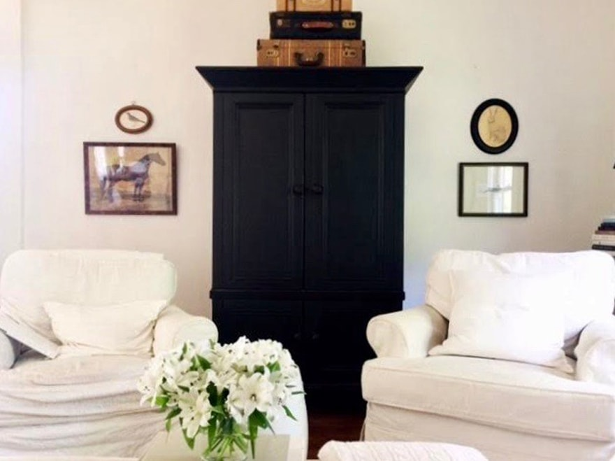 armoire-black-painted-furniture-slipcovers-vintage-furniture