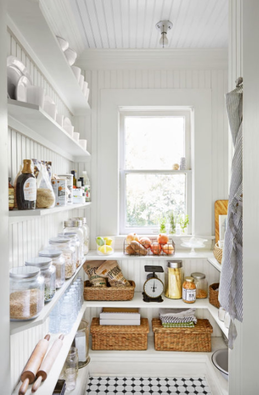 pantry-organization-jars-narrow-pantry-shelves