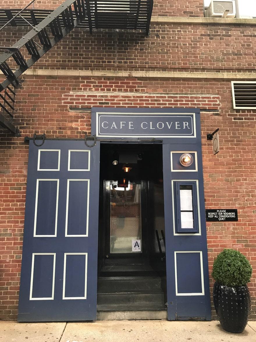 Cafe-Clover-West-Village-Restaurant-Front-Door