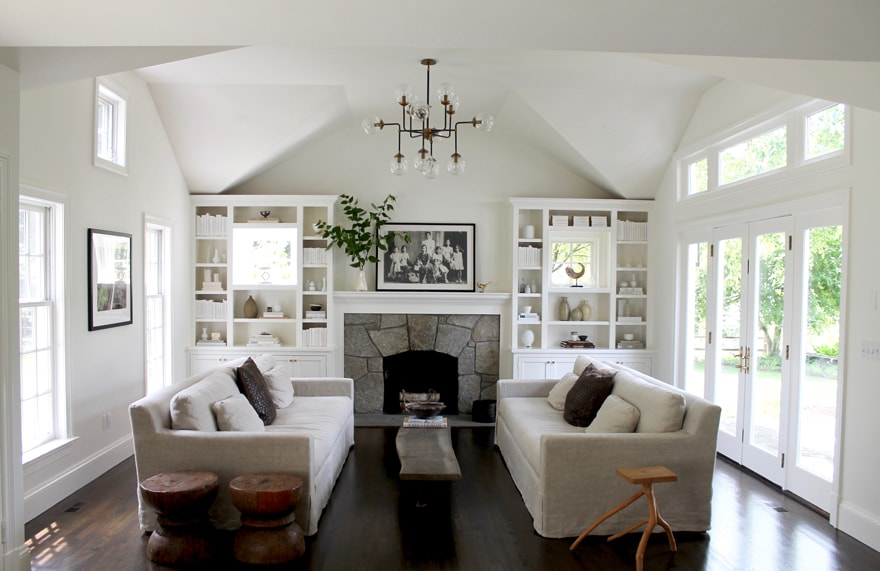 Modern-Country-Estate-White-Walls-stone-fireplace