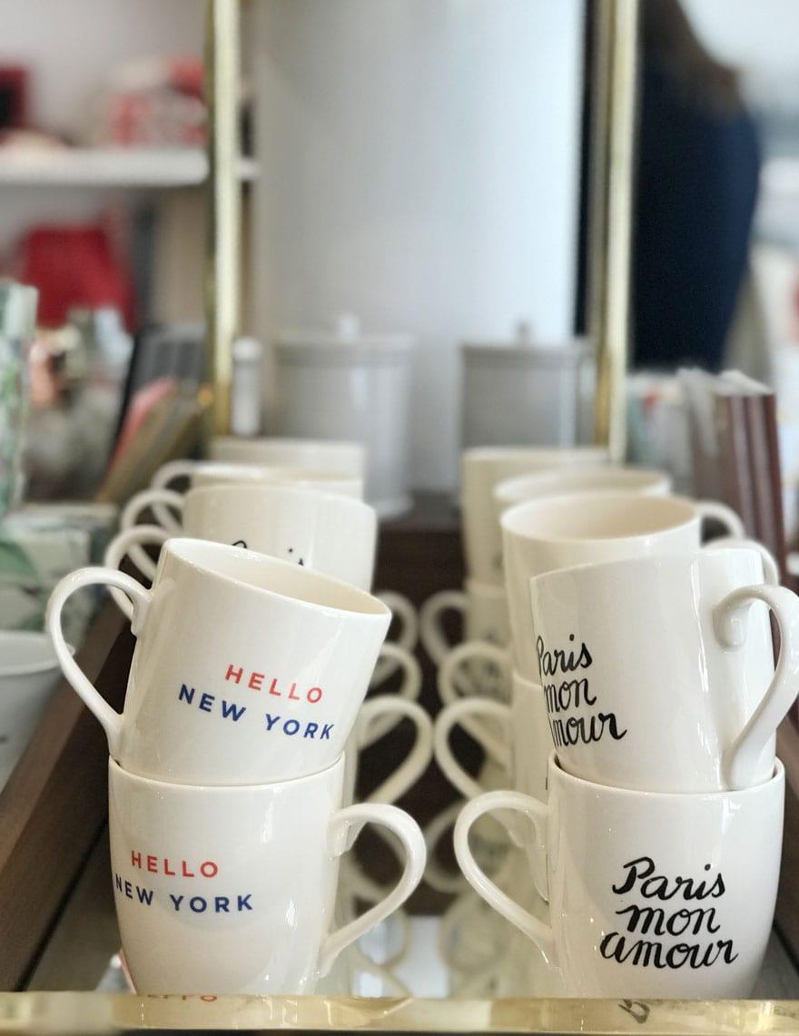 hello New york, Paris mon amour mus at Sézane New York