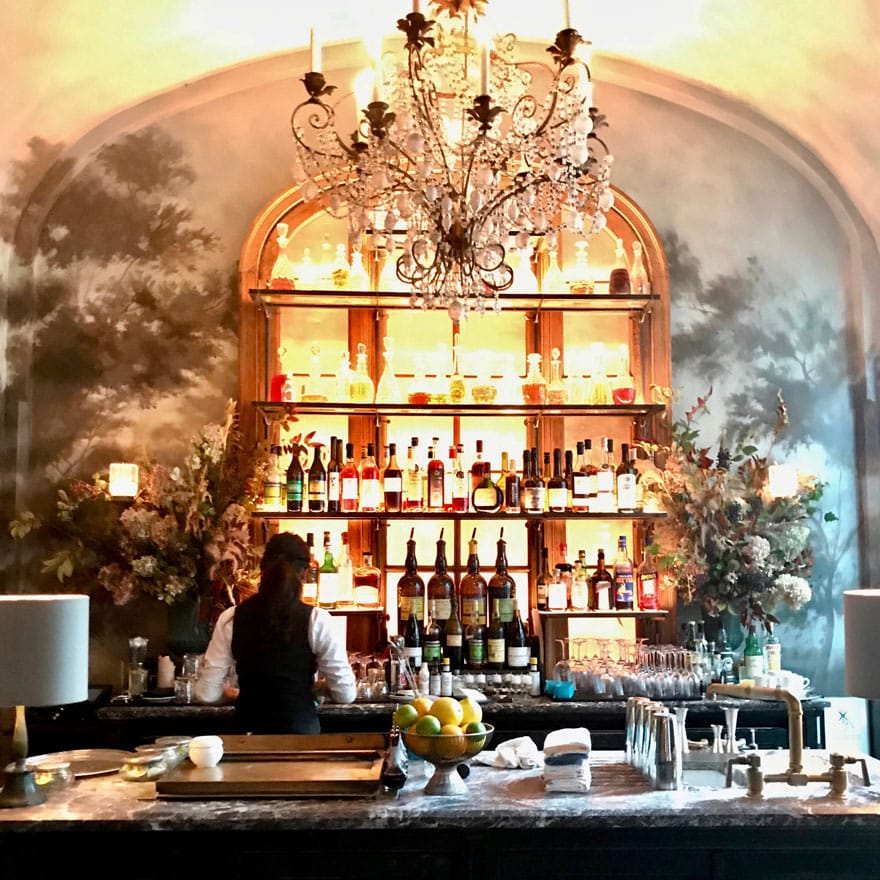 The prettiest restaurant in NYC - Le Coucou at 138 Lafayette