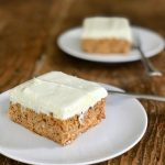 This is the best low-carb carrot cake with cream cheese frosting
