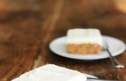 A low-carb carrot cake + Friday Favorites