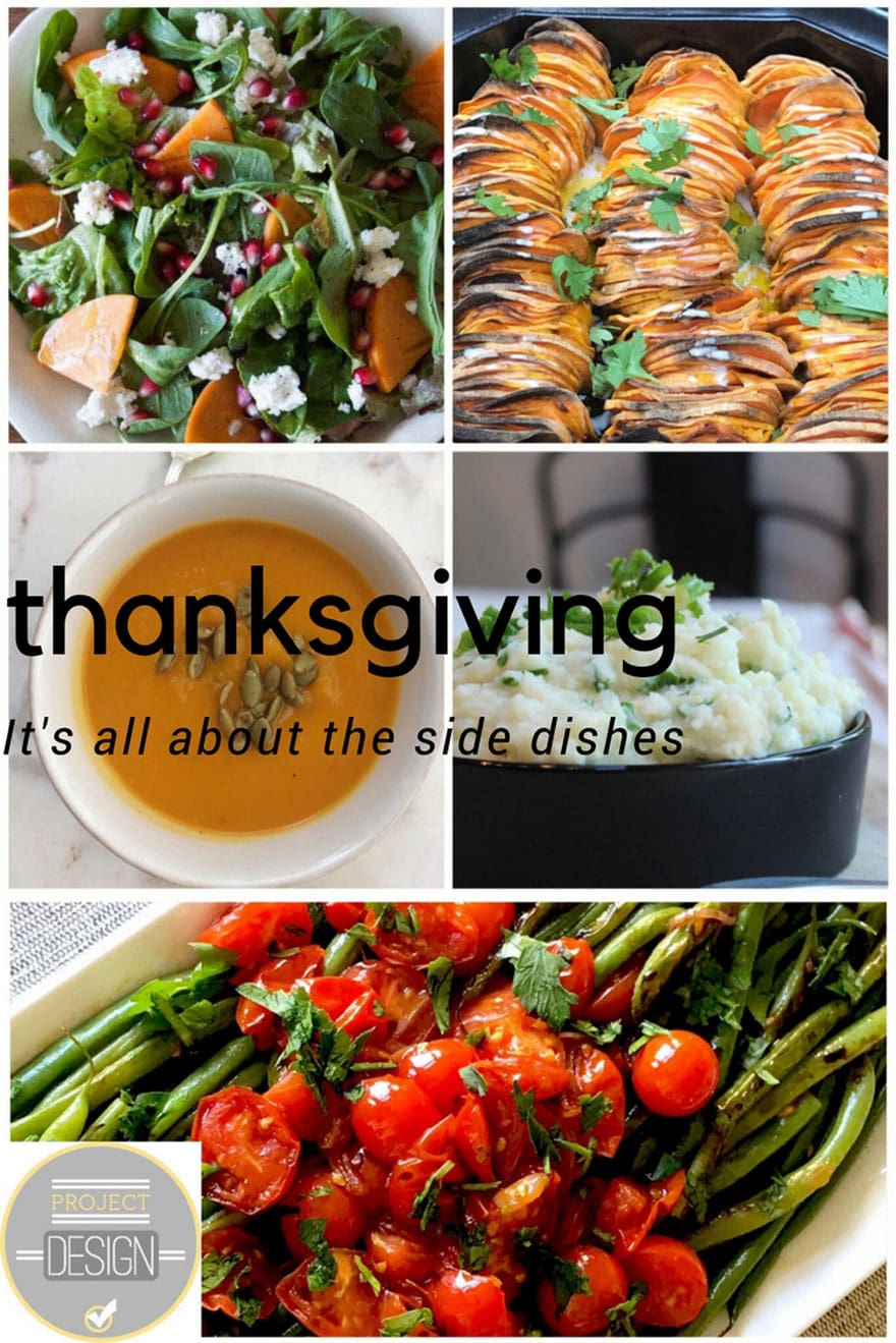 Thanksgiving side dishes from 5 bloggers