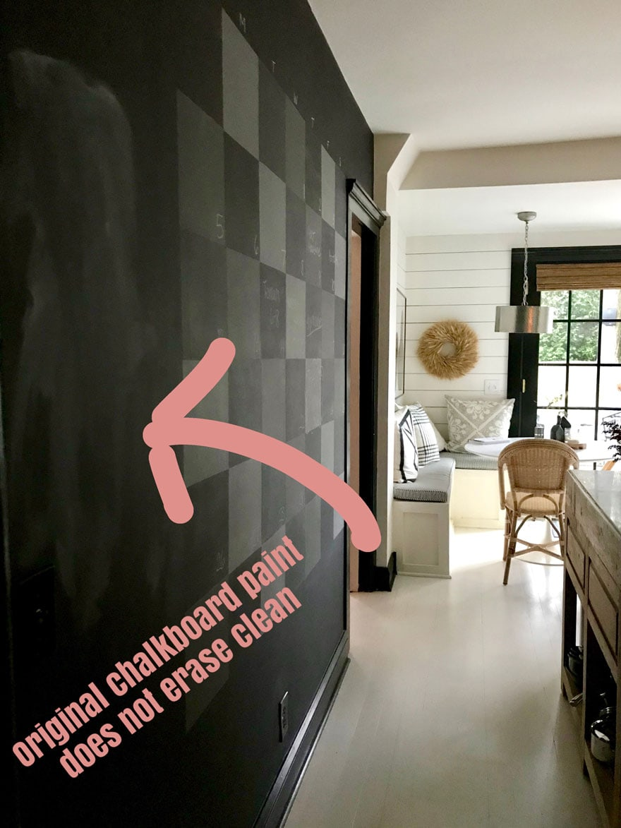All chalkboard paints are not equal--use Benjamin Moore its worth the extra money!