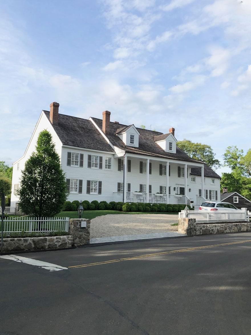 large white inn