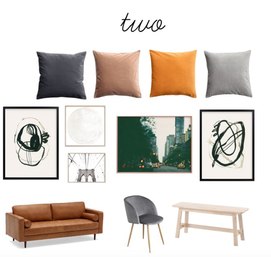 Art for a tiny NYC first apartment