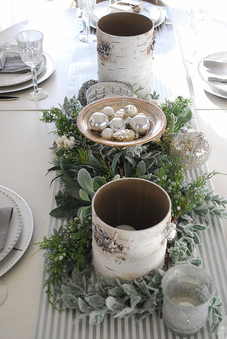 Amy's beautiful holiday table