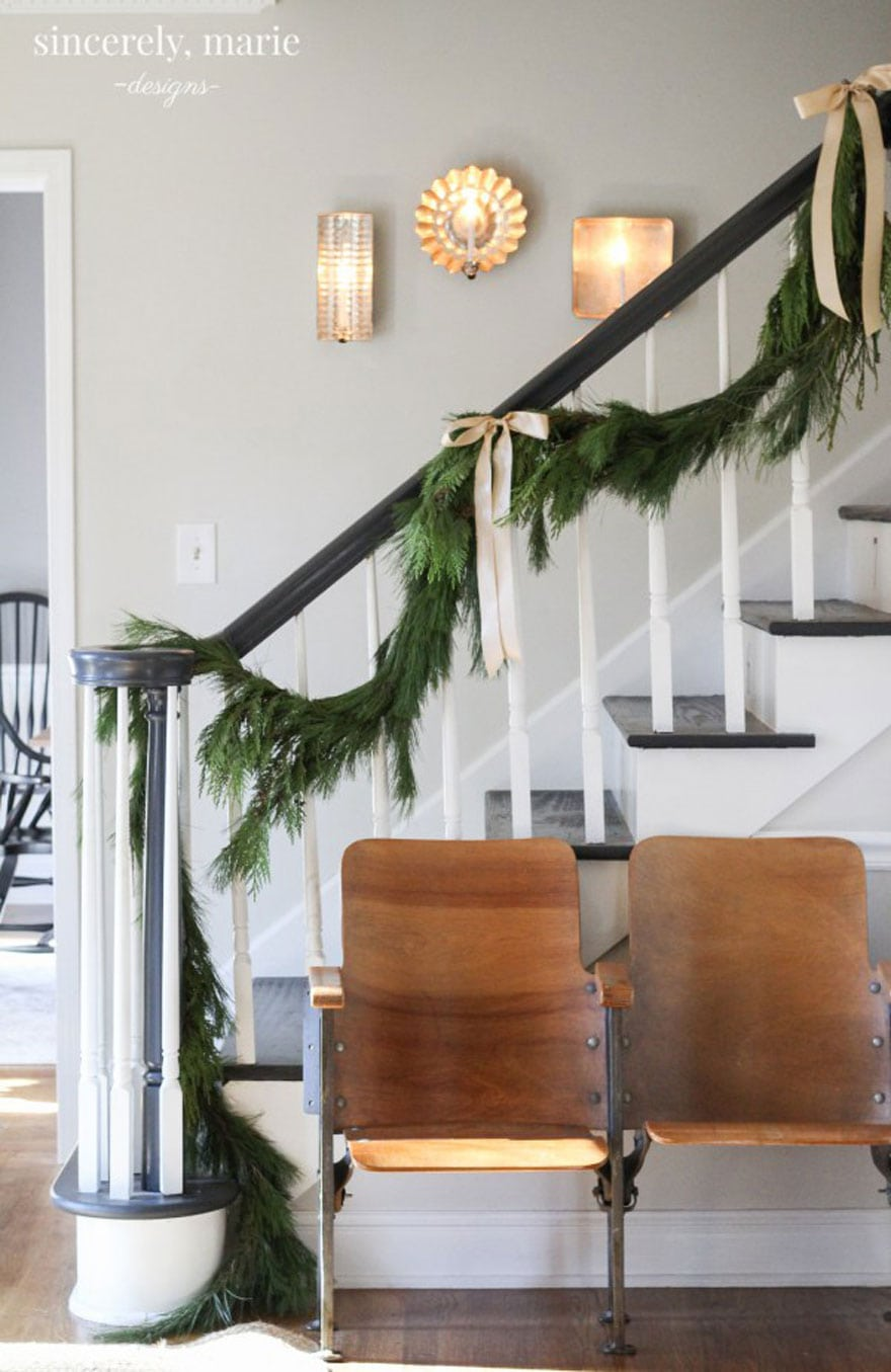 A beautiful entry way by Amanda of Sincerely, Marie Designs