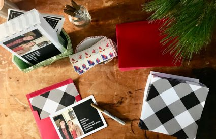 Writing, sending and receiving holiday cards