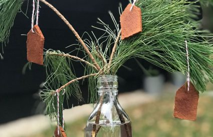 Rustic Cinnamon House Ornaments that will make your house smell like Christmas