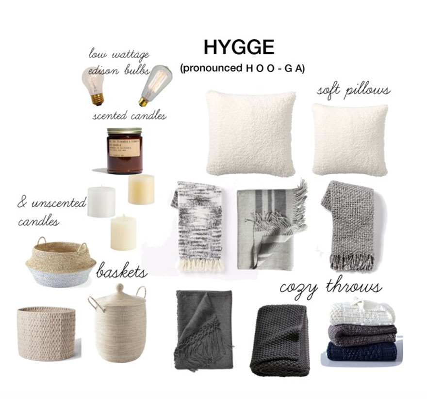 How to get that Hygge feeling in your home this winter