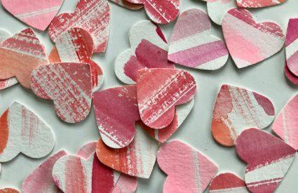 Friday Favorites + Watercolor hearts
