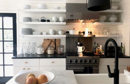 Modern, traditional and a little bit farmhouse kitchen + Diane Karmen