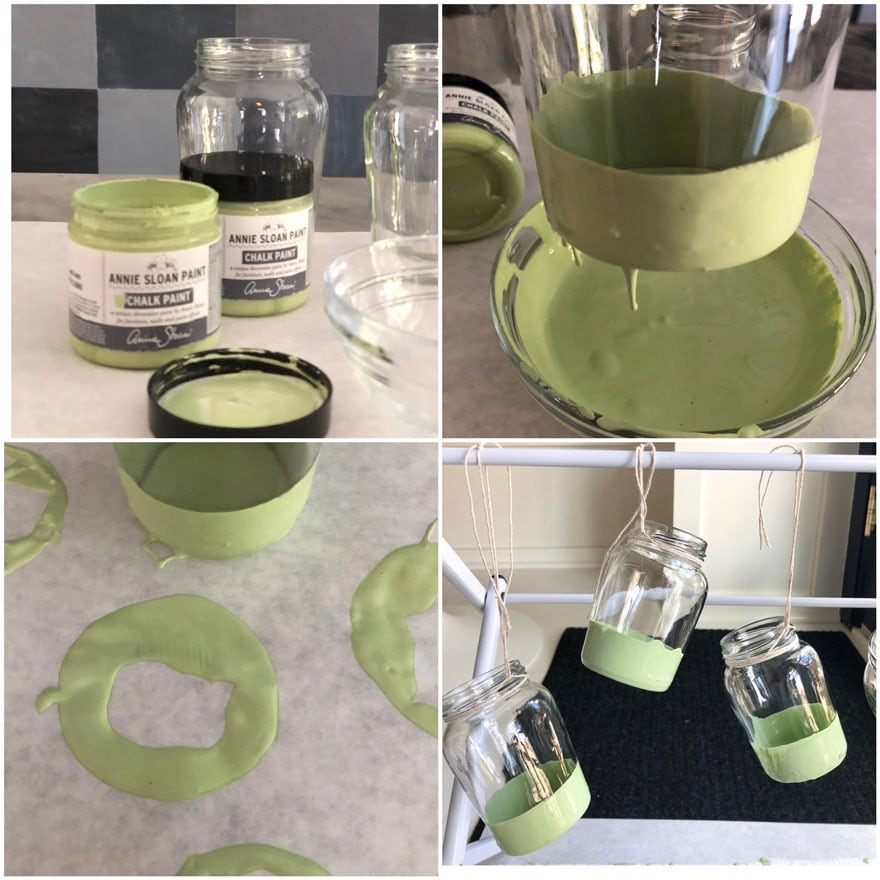diy paint jars