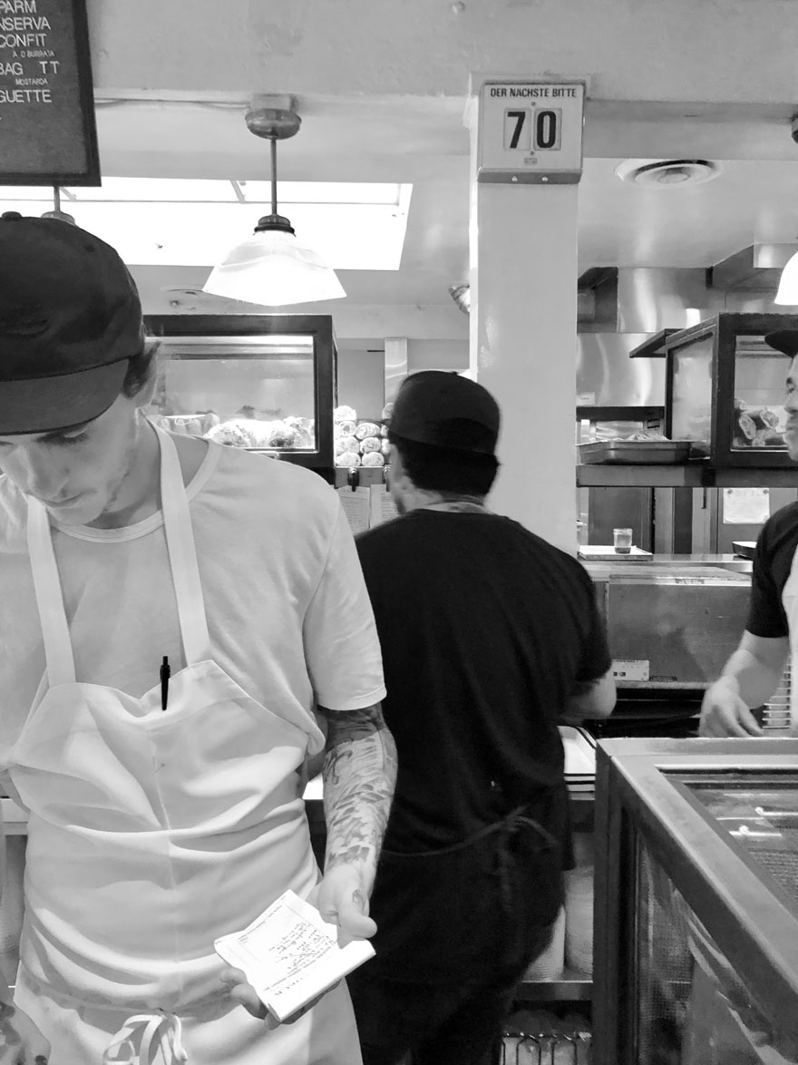 guy at deli counter