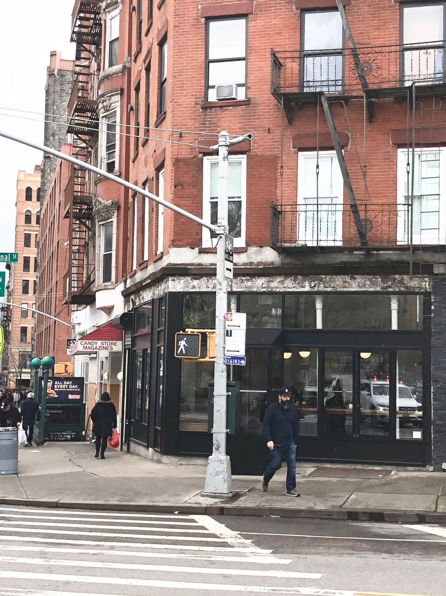 building exterior NYC