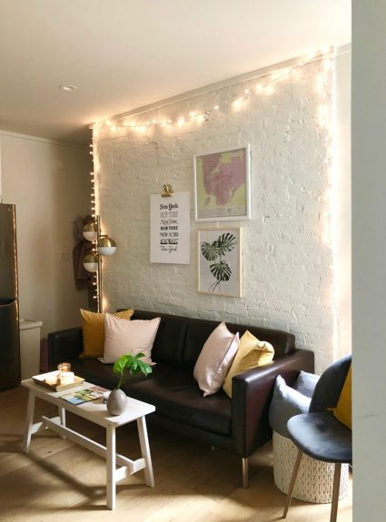 Making the most of a small space + NYC apartment